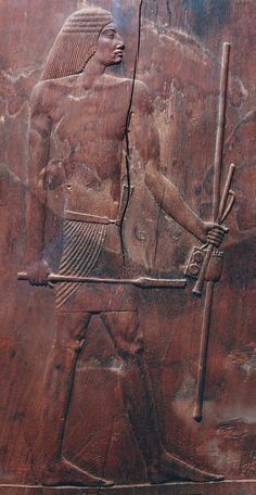 "One of history's first doctors, Hesire, was the ""Chief of Tooth-Doctors and Doctors"" at the court of the Old Kingdom pharaoh Djoser. Hesire, from his tomb at Saqqara, Egypt, Dynasty III, Wood. Egyptian Museum, Cairo. ca. 2650 BCE."