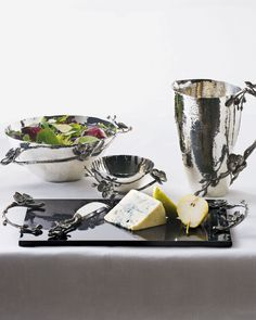 Lovely. Nature-inspired. Sleek. Sophisticated.  Serveware by Michael Aram.  Start your collection now at Simply Selma's.