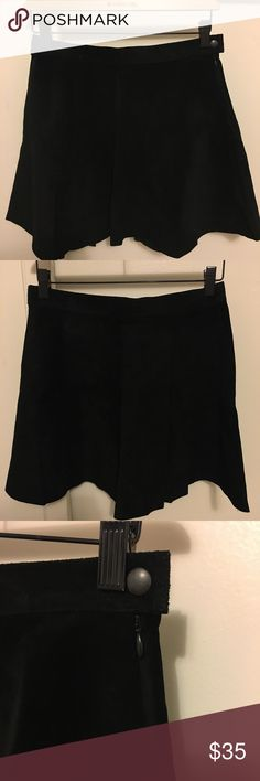 American Apparel Leather Skirt 100% genuine leather circle skirt from American Apparel! Worn once, in great condition! American Apparel Skirts Circle & Skater