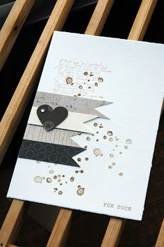 Love the simplicity.  Looks like a stampin' up stamp set.