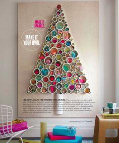 Baum mit Papprollen