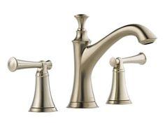 Two Handle Widespread Lavatory Faucet - Less Handles : 65305LF-BNLHP HL505-BN : Baliza : bath : Brizo