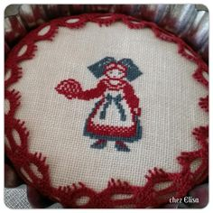 Elisa Casamia In Italia Alsace, Le Point, Decoration, Cross Stitch, Holiday Decor, Lorraine, Vintage, Couture, Dots