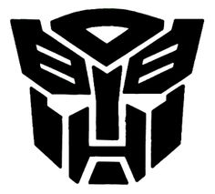 While technically not a tattoo yet, this is the Transformers symbol I will be getting tattooed on me someday.