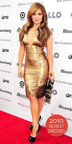 Jennifer Lopez - J. Lo gold dress