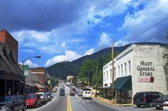 Boone, North Carolina. Mast General Store has the best candy store around!