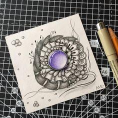 """94 Likes, 3 Comments - Мария/Mary, RU/EN, Moscow (@lemaryko.zia) on Instagram: """"#zentangle #zenart #zentangleart #zia #drawing #artwork #abstract #penart #зенарт #зентангл…"""""""