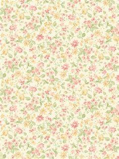 522-30603 - Wallpaper | Springtime Cottage | AmericanBlinds.com