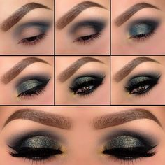 Confident women wear smokey eyeshadow like no one else, and that's why this article for all those women who love applying a dark shimmery green eyeshadow over their eyelids for different special events. Start by applying dark green eyeshadow by the end of your eyelids such as indicated below and then carefully blend it. Apply ...