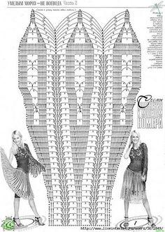 crochet skirt...how to increase for fullness of skirt
