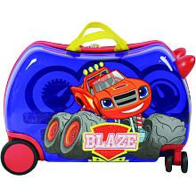 Nickelodeon Cruizer Nickelodeon Blaze and Monster Machines Ride-On Kids Luggage, Blue Kids Luggage, Luggage Store, Luggage Deals, Luggage Brands, Toy Cars For Kids, Hardside Spinner Luggage, Carry On Size, Kids Ride On, Cartoon Shows