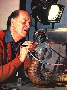 Medusa, Stop motion , Ray Harryhausen, 1981. Like it use to be