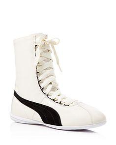 PUMA Eskiva Hi Rihanna Collection Lace Up Sneakers Retro Sneakers 36939e69f