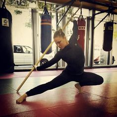 Ronda Rousey #IamAnAthlete kimurawear.com Well, lacked support your feet on the ground, but it's beautiful anyway