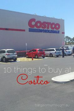 10 things to buy at Costco