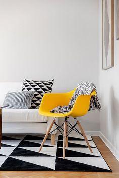 Cadeira Eames... Veja como e onde pode utilizar este ícone do design