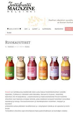 Herkullisia ruokauutisia 2/2014 Tutti Frutti Helsinki.