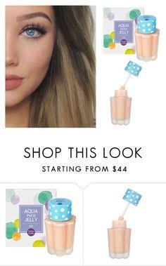 """Holika Aqua Petit Jelly BB Cream"" by niniko-cosmetics ❤ liked on Polyvore featuring Holika Holika, beautytips, korean, holikaholika, Niniko and AquaPetitJellyBB"