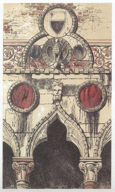 ACT I SCENE ii     [Архитектура в акварели Джона Рескина (John Ruskin) (32 работ)]