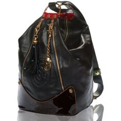 Marino Orlandi Italian Designer Black Leather Oversized Sling Purse Marino Orlandi,    650.00http://www.amazon.com/dp/B008X6ZGX4/ref=cm_sw_r_pi_dp_zrI-qb1W5W67T