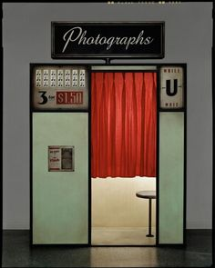 Dan Winters; Photo Booth. should be in every great place these days with a decent balck brown print out !