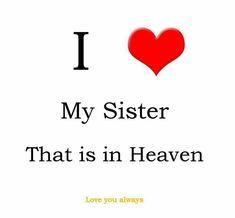 Miss my sister, Karen, everyday.
