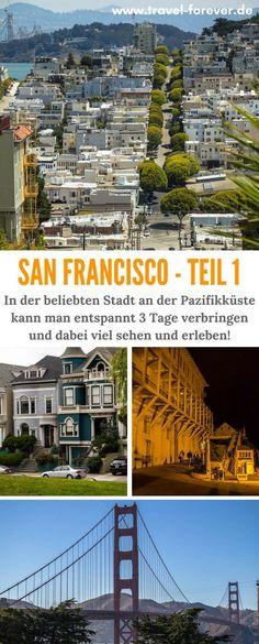 In diesem 2-teiligen Artikel über San Francisco stelle ich die schönsten Sehenswürdigkeiten in einer Empfehlung für 3 Tage vor, welche v.a. für Erstbesucher geeignet ist. | Kalifornien | Pazifik | City by the bay | Roadtrip USA | Alcatraz | Twin Peaks | Pier 39 | Golden Gate Bridge > San Francisco in 3 Tagen |