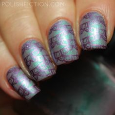 Femme Fatale Up Above the World Yoou Fly and stamping from Born Pretty Store BP-L003 with China Glaze Harmony