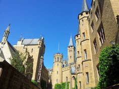 The castle of Hohenzollern in the county of Zollern Alb