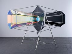 Blue double kaleidoscope • Artwork • Studio Olafur Eliasson