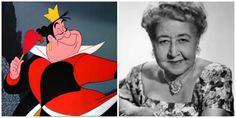 The Faces Behind Disney Villains: Queen of Hearts/ Verna Felton