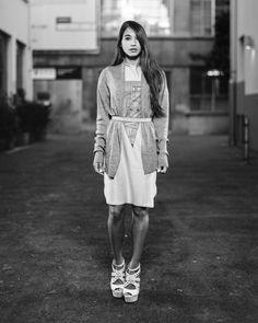 Spring Summer 2016 editorial. Featuring model Elodie Sogan in UNDER/CONSTRUCTION by Eliran Ashraf. Shot by Alex Pittet in Geneva. Spring Summer 2016, Geneva, Editorial, Menswear, Construction, Women's Fashion, Model, T Shirt, Style