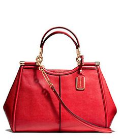 COACH MADISON CAROLINE SATCHEL IN TEXTURED LEATHER | Dillard's Mobile