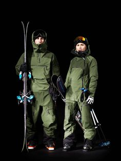 Peak Performance Heli Line #6 (Men's Heli Vertical Suit and Women's Heli Vertical Jacket and Pants)