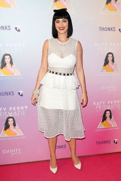 Katy Perry at a Sydney press event.