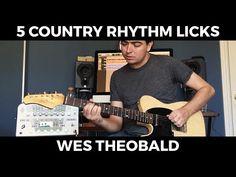 Working Man Blues Guitar Lesson - Merle Haggard Guitar Licks | Wes Theobald - YouTube
