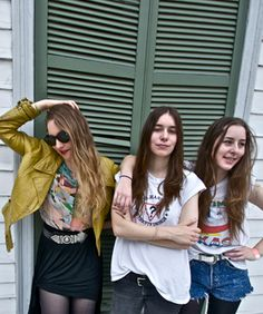 Sister act HAIM chats fashion with Refinery29 at SXSW!