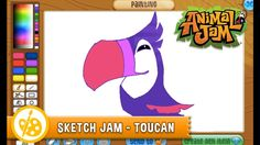 Toucans have arrived in Jamaa! Learn how to draw these adorable birds in this Sketch Jam!
