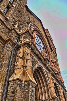Old Church in Milwaukee Wisconsin by 2sheldn, via Flickr