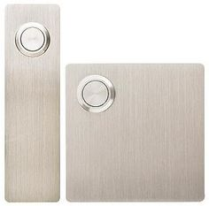Modern Stainless Steel Doorbells from Design Within Reach Entry Doors, Entryway, Front Doors, Design Within Reach, House Entrance, Carpet Design, House Numbers, Bronze Sculpture, Modern House Design