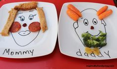Personalized plates - Make meal time fun, so cute!
