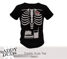 [DADDY DUDS]VINTAGE TEE-daddybelly 4