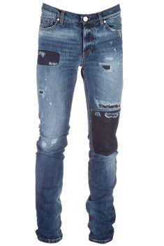 VERSACE JEANS MEN'S JEANS DENIM SLIM. #versacejeans #cloth #