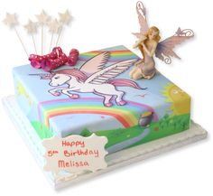 The Brilliant Bakers - Unicorn Rainbow Cake, £49.95 - Got this amazing cake for my girls 5th birthday party