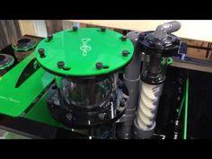 Whitlyn Aquatics Custom Green ss-48 Bashea sump & twisted skimmer & media - YouTube Aquarium Sump, Reef Tanks, Kitchen Aid Mixer, Poker Table, Ss, Green, Youtube, Youtubers, Youtube Movies