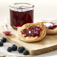 Blueberry Jelly~ I made this tonight but changed the recipe a little by cooking it in the slow cooker! It worked great!! Just let it cook a lot longer..delicious!!
