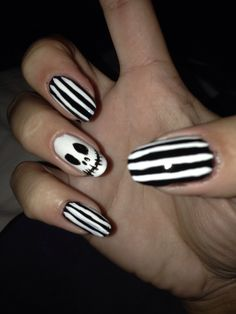 Halloween nail art done by me