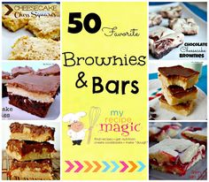 50 Favorite Brownies and Bars-