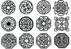 한국의 전통문양 : 네이버 블로그 Geometric Pattern Design, Graphic Patterns, Textile Patterns, Pattern Art, Chinese Patterns, Indian Patterns, Mouse Illustration, Sacred Geometry Art, Blue And White Vase