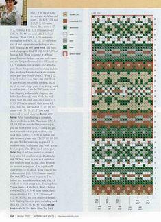 Billedresultat for dise os fair isle de alice starmore Fair Isle Knitting Patterns, Knitting Charts, Loom Patterns, Knitting Designs, Knitting Stitches, Knitting Projects, Hand Knitting, Knitting Tutorials, Vintage Knitting